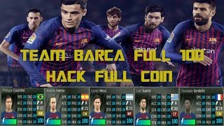 Dream league soccer 18 - review data barca 2018-2019 full all players 100