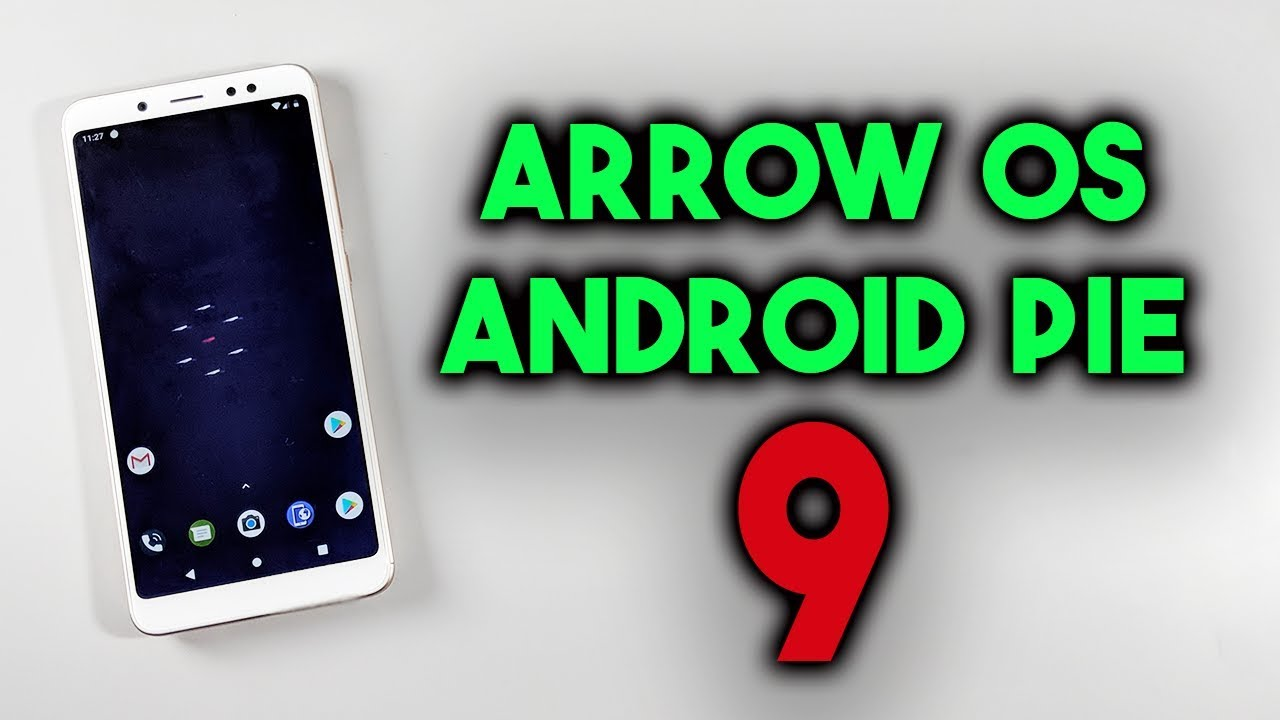 ARROW OS ANDROID PIE Rom For Redmi Note 5 Pro