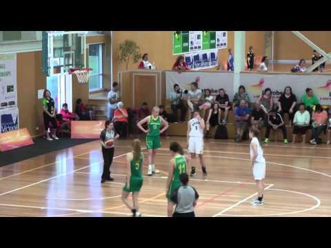 Bridget O'Brien (#11 Green), 6'1, SF/SG, 2015 (Brisbane, Australia)