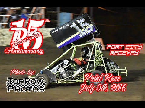 D2 Motorsports - Port City Raceway - Points Race - 7-9-16