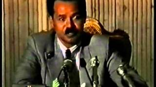 Isayas Afworki interview in Addis Abeba 1993
