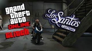 GTA 5 Online Glitch - Getting inside Los Santos Customs
