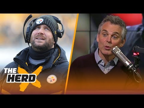 Colin Cowherd on Roethlisberger and the lines in Las Vegas going into Divisional games | THE HERD