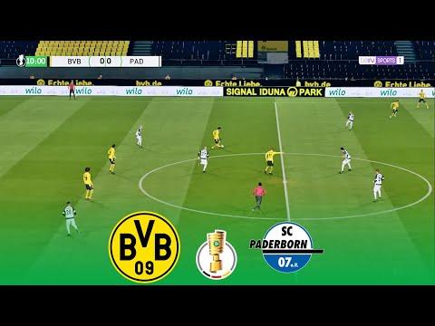 Borussia Dortmund vs Paderborn | DFB Pokal 2020/2021 Round of 16 (02/02/2021)