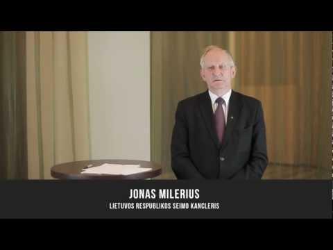 Jonas Milerius, Lietuvos Respublikos Seimo kancleris