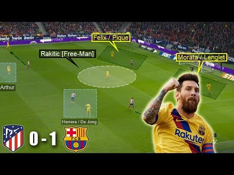 A Hard Fought Barca Victory | Atletico Madrid Vs Barcelona 0-1 | Tactical Analysis