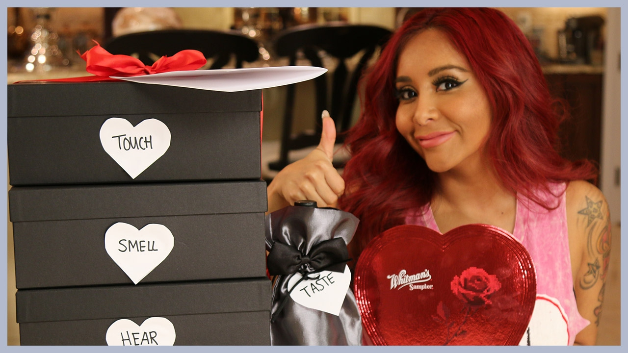 Snooki S Valentine S Day Gift Boxes For Jionni Youtube