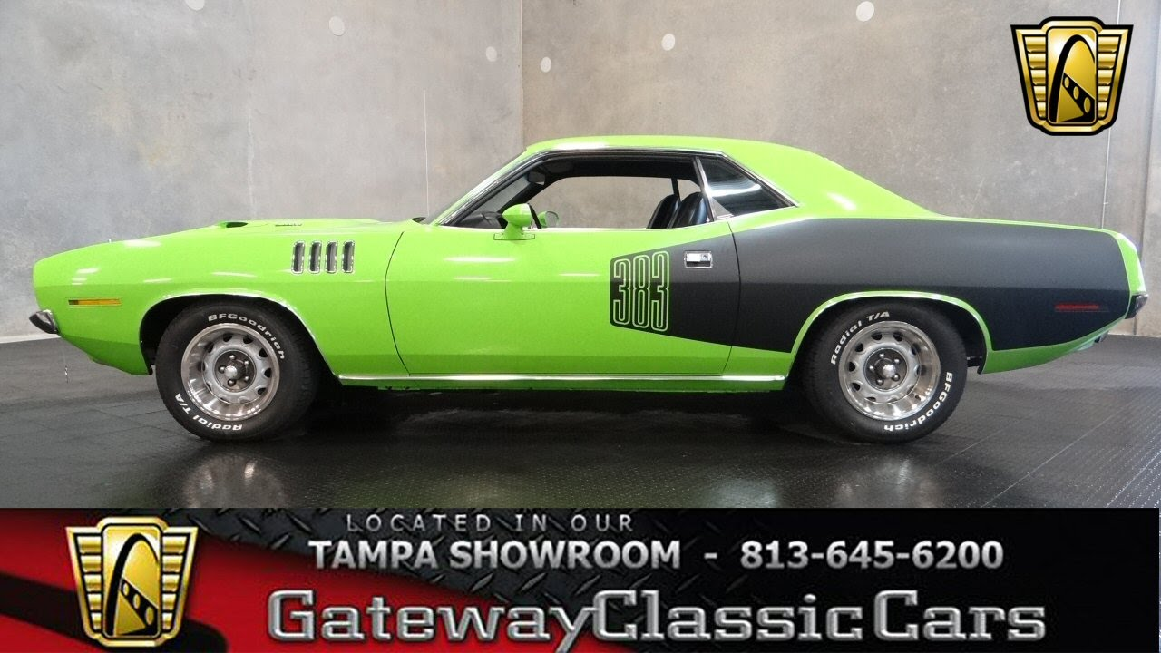 1971 Plymouth Barracuda - YouTube