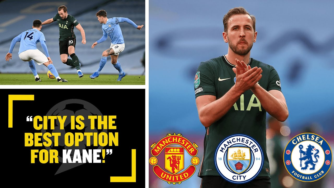 Harry Kane's transfer options: Man United, Man City, Chelsea or a ...