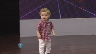 La tierna reacción del nieto de Oscar Ruggeri