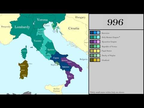 History of Italy (477 - 2017)