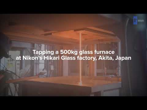 Nikon Hikari Glass Factory - Tapping The Crucible