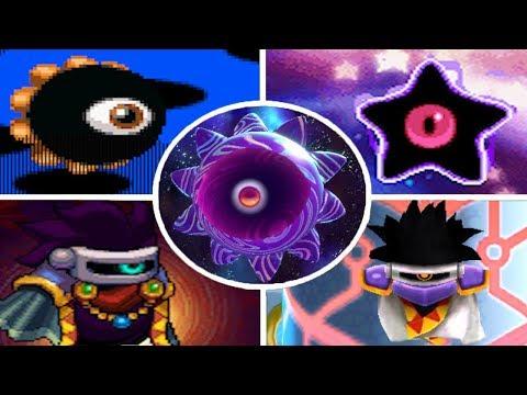 Evolution of Dark Matter Battles in Kirby Games (1995 - 2018)