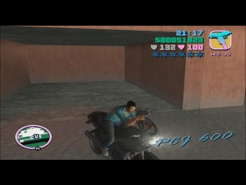 GTA Vice City: Final Mission - Keep Your Friends Close... - Bike Method (PS4)