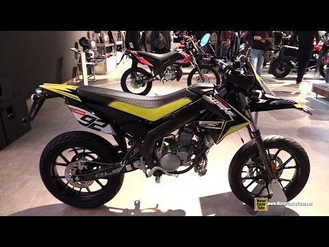 2015 Senda X-Treme 50 SM LTD Supermotard Bike - Walkaround - 2014 EICMA Milan Motorcycle Exhibition
