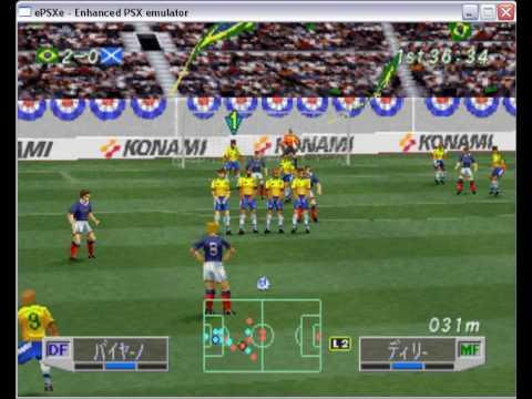 Winning Eleven 3 Final Version On Epsxe  Playstation Psone Emulator You