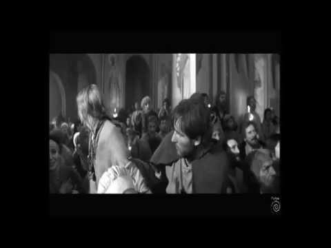 Андрей Рублев Штурм русской церкви татарами монголами Andrey Rublev Tatars Storming Russian Church