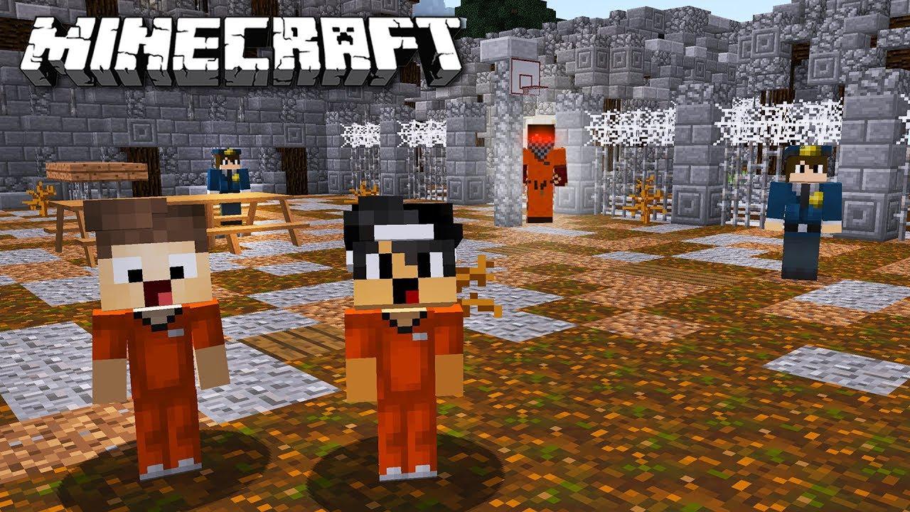 EIN KILLER VERFOLGT UNS IM GEFÄNGNIS IN MINECRAFT YouTube - Minecraft gefangnis spiele