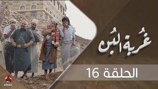غربة البن   الحلقة  16    محمد قحطان - صلاح الوافي - عمار العزكي - سالي حماده - شروق   يمن شباب