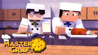 Minecraft: MASTERCRAFT - BATALHA DE COZINHEIROS! #1