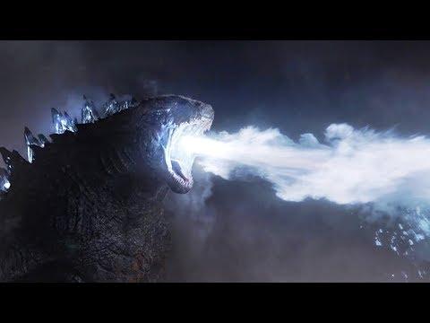 远古巨兽被唤醒,喷出10万度的热能射线,秒杀它的死敌!速看科幻电影《哥斯拉》