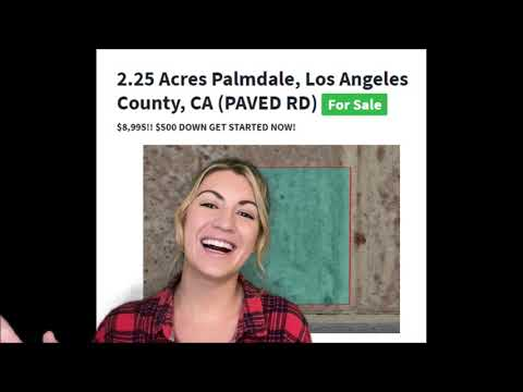 2.25 Acres Property for Sale in Palmdale, Los Angeles County, California