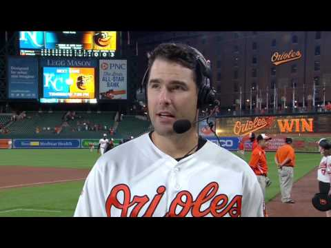 Seth Smith after the Orioles' win over the Royals