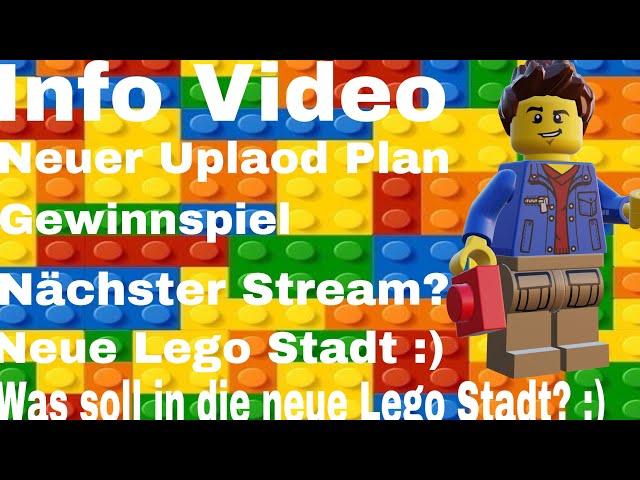 Info Video/ Neue Lego Stadt und Gewinnspiel