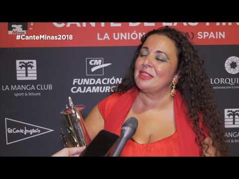 Maria Jose Carrasco premio Lampara Minera 2018