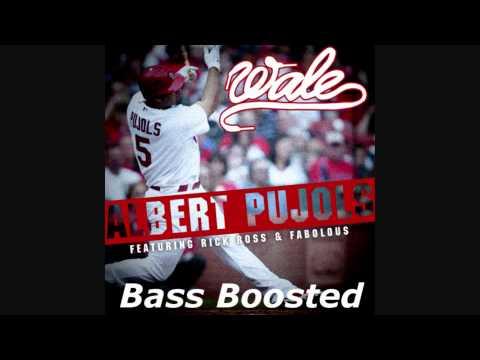 Wale  Albert Pujols Ft Rick Ross & Fabolous BASS BOOSTED HD 1080p