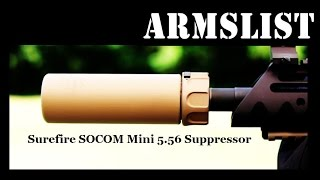 surefire socom mini 5 56 suppressor
