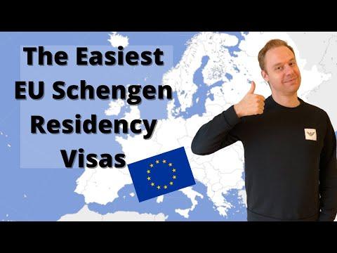 The Easiest EU Schengen Residencies You Can Get