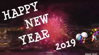#HAPPY#NEW YEAR #FROHES #NEUES JAHR 2019 //MAY THIS YEAR BRINGS HAPPINESS
