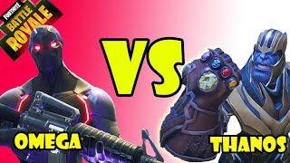 THANOS VS OMEGA !!! - Fortnite Battle Royale - 100 lvl Savaş bileti