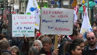 Education: grève et manifs contre les suppressions de postes