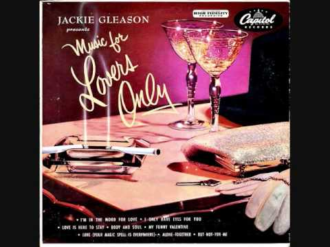"Jackie Gleason presents ""Music for Lovers Only"" (1952) Full vinyl LP"