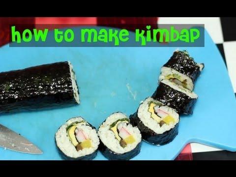How to Make Kimbap