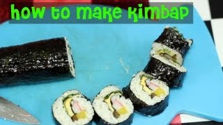How to Make Kimbap