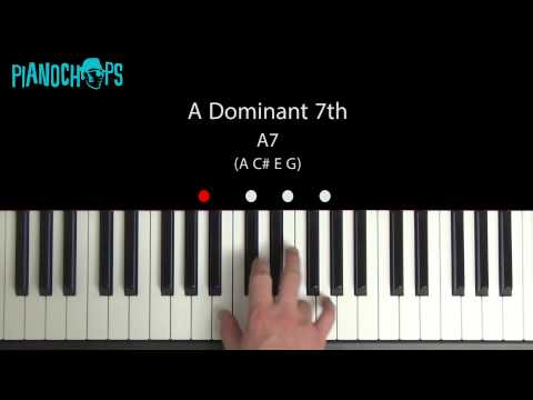 A Dominant 7 on Piano - A7