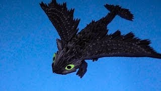 3d Origami Dragon Night Fury (toothless) Tutorial (instruction)