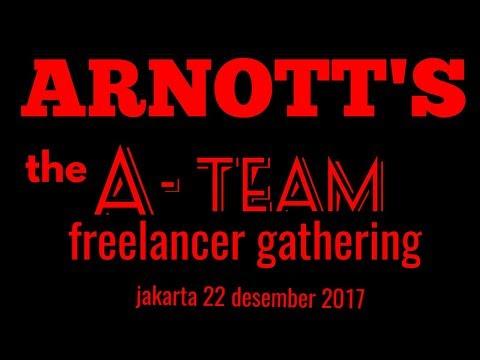 ARNOTT'S the A TEAM gathering freelancer. Jakarta, 22 desember 2017