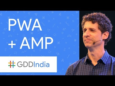 PWA + AMP = Easy for Users and Developers...