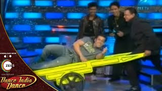 Salman Khan Made Everybody CAN'T STOP LAUGHING - Dance India Dance Season 4