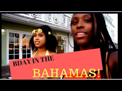 "TRAVEL VLOG: Impromptu Birthday Trip to Nassau, Bahamas ""Atlantis"""
