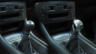 Pommeau vitesse BVM6 Peugeot sur Citroën C5 BlueHDi 150