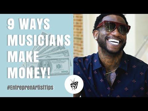 9 Ways Musicians Make Money | MUSIK !D TV