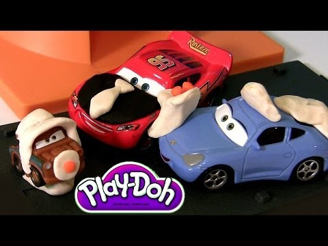 Play Doh McQueen Amp Sally Kissing Valentines Day 2014 Play