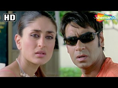 Ajay Devgn & Kareena Kapoor Comedy Scene from Golmaal Returns [2008] - Hindi Comedy Movie