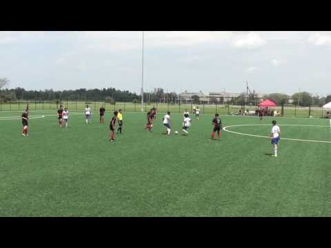 U15 WOSC vs Toronto FC- June 18, 2017- First Half