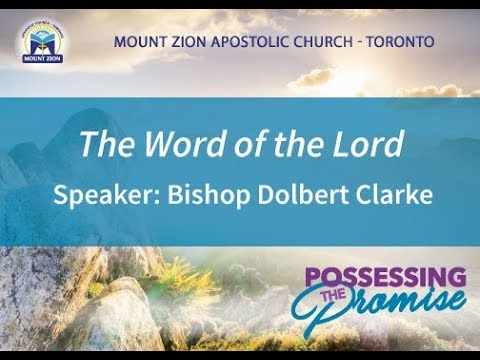 Convocation 2019: Sunday AM – Apostolic Preaching (Bishop Dolbert Clarke)